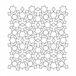 Free Tessellation Coloring Pages Adult Printable   68366