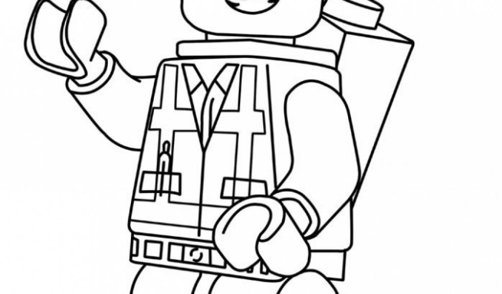 free lego movie coloring pages - photo#22