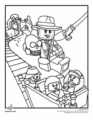 Free The Lego Movie Coloring Pages to Print   457036