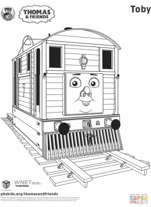 Free Thomas the Train Coloring Pages to Print   31528