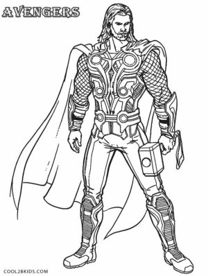 Free Thor Coloring Pages   75908