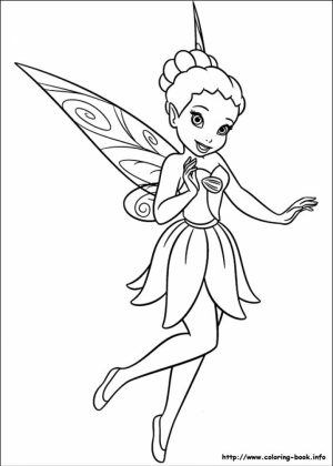 Free Tinkerbell Coloring Pages to Print   65902