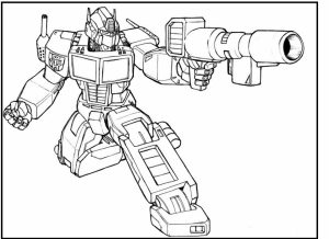 Free Transformers Coloring Pages to Print Out   94137