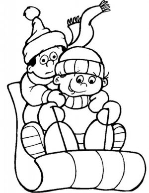 Free Winter Coloring Pages to Print   194513