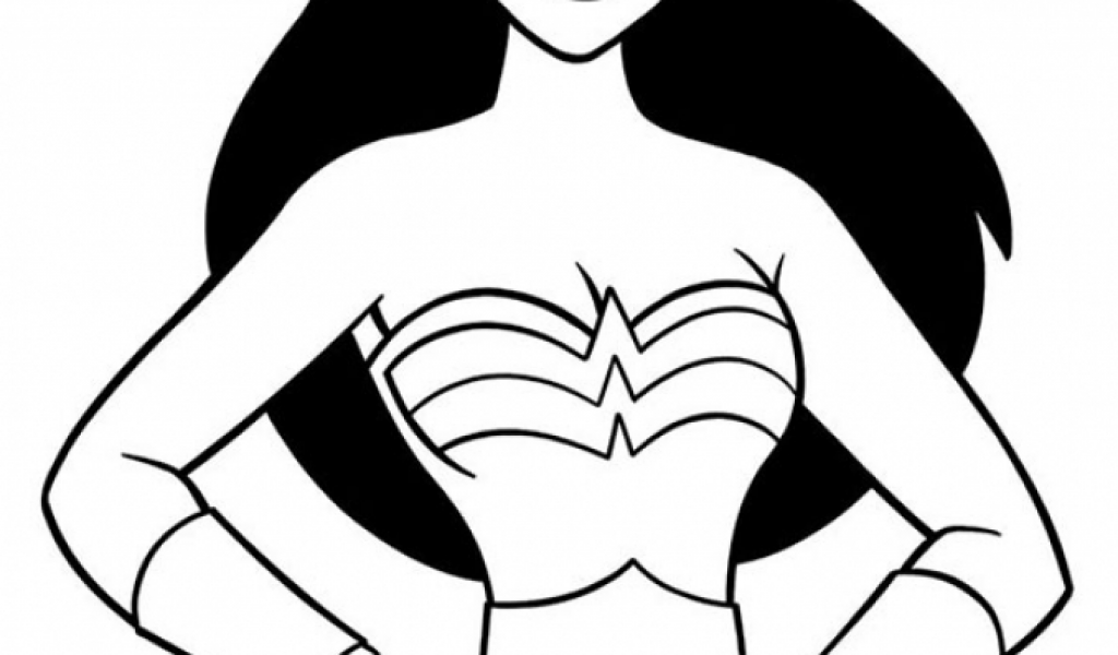 free wonder woman coloring pages t29m5