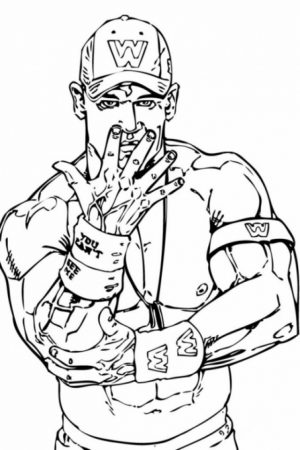 Free WWE Coloring Pages to Print   11172