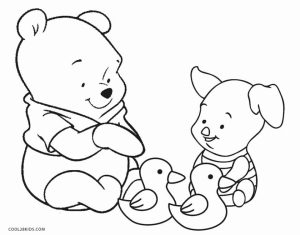 Fun Kids Printable Coloring Pages of Winnie the Pooh   58961