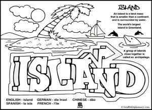 Graffiti Coloring Pages Free Printable   11070