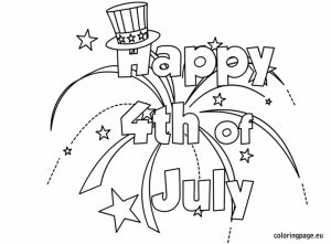 Happy 4th of July Coloring Pages   216c3