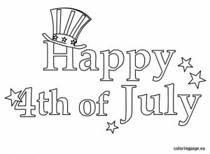 Happy 4th of July Coloring Pages   7vb21