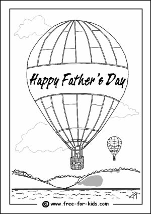 Happy Father's Day Coloring Pages Free   8vbtm