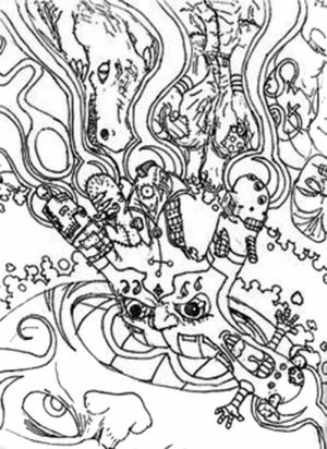 Hard Trippy Coloring Pages Free for Adults   ZIN56