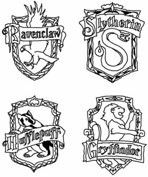 Harry Potter Coloring Pages to Print Out   41552