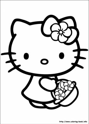 Hello Kitty Coloring Pages Free   wtxm7