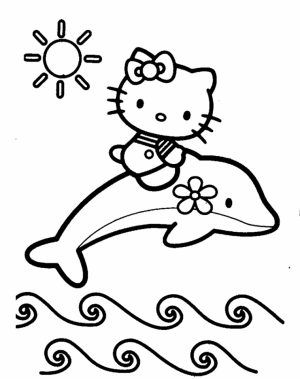 Hello Kitty Coloring Pages Online   wy3n2