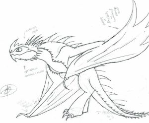 How to Train Your Dragon Coloring Pages Printable   9bny3