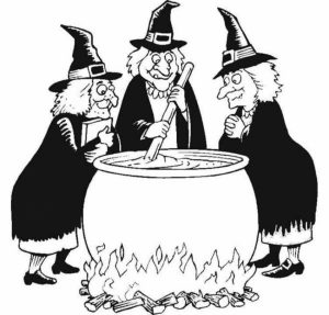 Image of Witch Coloring Pages to Print for Kids   EhR0n