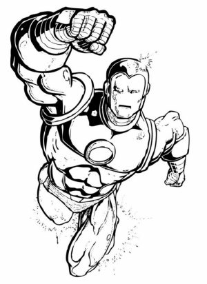 Ironman Coloring Pages Free Printable   51582