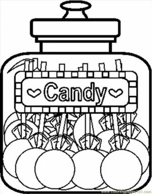 Kids' Printable Candy Coloring Pages   x4lk2