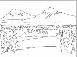 Kids' Printable Nature Coloring Pages Free Online   p2s2s
