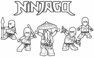 Lego Ninjago Coloring Pages Free Printable   679158