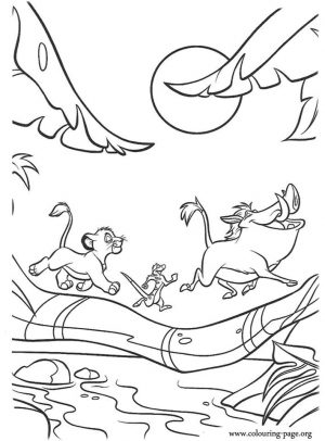 lion king coloring book pages – 7831a