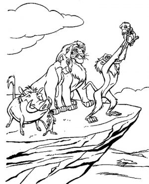 lion king coloring book pages – yabs2