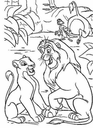 Lion King Coloring Pages Online   8291ag