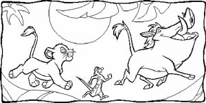 Lion King Coloring Pages to Print   atwm6