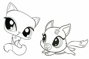 Littlest Pet Shop Coloring Pages Free to Print   25168