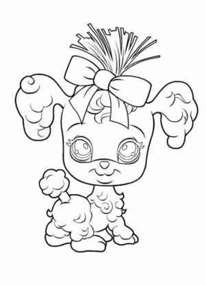 Littlest Pet Shop Kids Printable Coloring Pages   231474