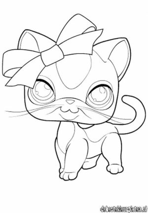 Littlest Pet Shop Kids Printable Coloring Pages   32618
