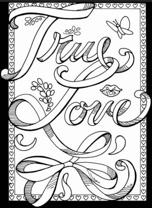 Love Coloring Pages Printable   at317