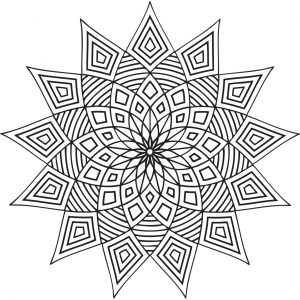 Mandala Design Coloring Pages   wa62l