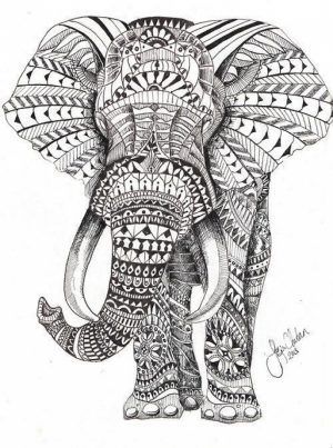 Mandala Elephant Coloring Pages   5f78h0