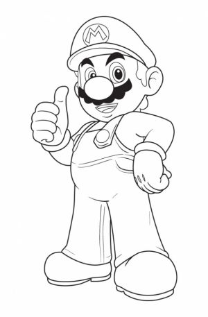 Mario Bros coloring pages free   mcg4n