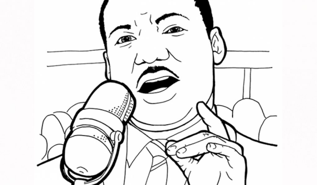 Get This Martin Luther King Jr Coloring Pages For Toddlers