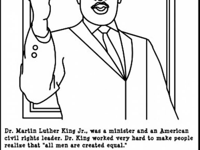 Perfect Martin Luther King Jr Coloring Pages Free To Print Jhdb With Page