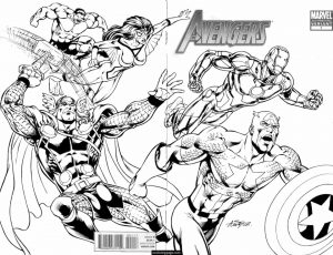 marvel avengers coloring pages – ywma1
