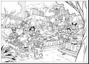 Marvel Coloring Pages Superhero Squad   uwm5b