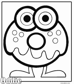 Monster Coloring Pages Free   uab4m