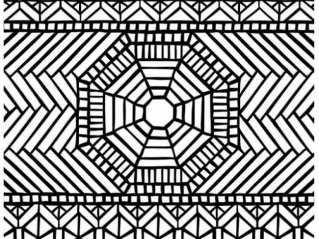 mosaic coloring pages printable