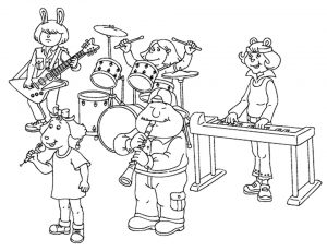 music coloring pages to print online – 27102