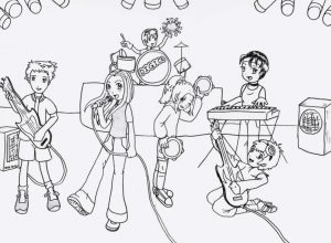 music coloring pages to print online – 30102