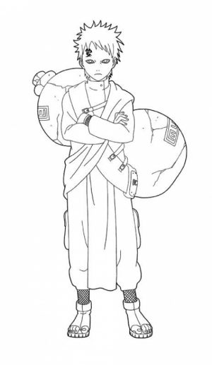 Naruto Characters Coloring Pages   71520