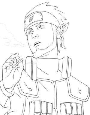 Naruto Coloring Book Pages for Kids   17696