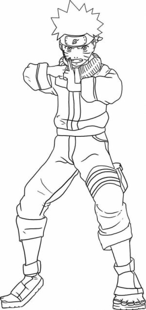 Naruto Coloring Pages Online   85738