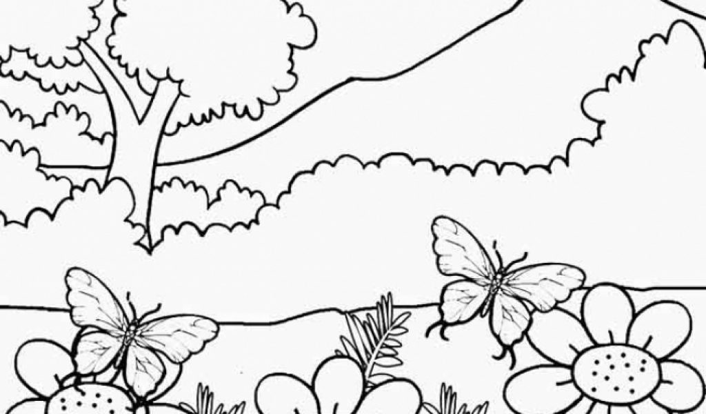 Get This Nature Coloring Pages Online Printable Nhywg