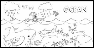 Ocean Coloring Pages Printable   wy4m9