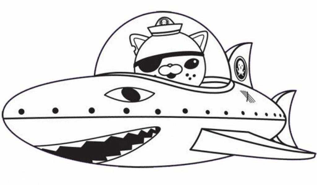 Octonauts Coloring Pages Printable Contegricom